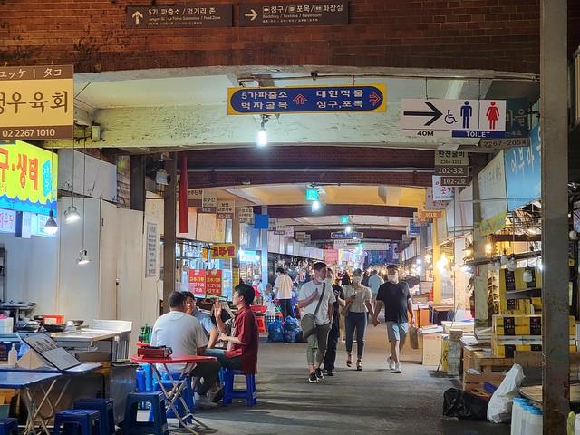The Gwangjang Market! �� #SouthKorea #exploreROK #Korea #travel #Seoul #Seoul #SeoulSouthKorea #city #GwangjangMarket #streetfoods