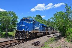 2021 06-23 1344-3 NS-CR ES44AC-8098 N/B 214, Marshall, VA