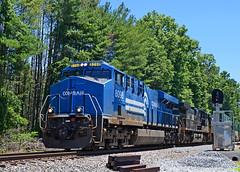 2021 06-23 1244-2 NS-CR ES44AC-8098 N/B 214, Broad Run, VA