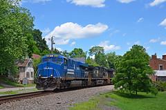 2021 06-23 1400-2 NS-CR ES44AC-8098 N/B 214, Delaplane, VA