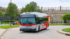 WMATA Metrobus 2011 New Flyer Xcelsior XDE40 #7095
