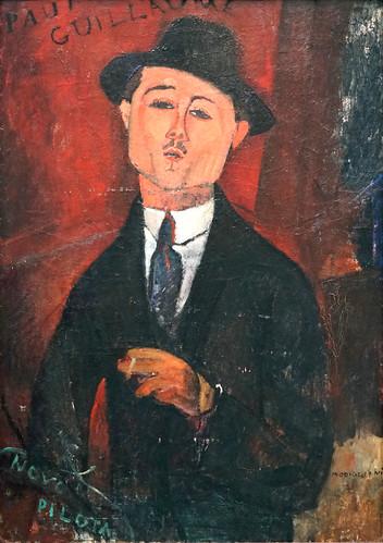 """Paul Guillaume"" d'Amedeo Modigliani (Musée de l'Orangerie, Paris)"