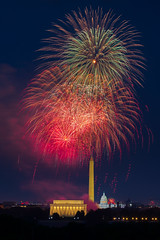Fireworks over the National Capital