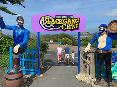 Photo 4 of 30 in the Day 4 - Blackgang Chine, Pirates Cove Fun Park, South Parade Pier and Clarence Pier album