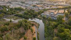 Jordan River & Little Cottonwood Creek confluence