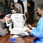 Al Shifa Trust Hospital Camp at NUTECH