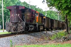 CP 9759   GE AC4400CW   NS Memphis District West End
