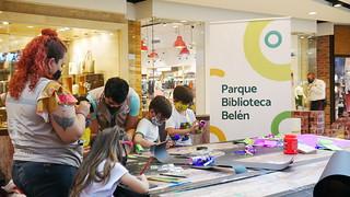 Taller creativo en Centro Comercial Los Molinos
