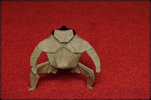 Origami Sumo Wrestler (Yoo Tae Yong)