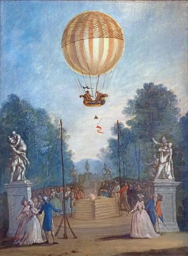 Ascension des frères Montgolfier aux Tuileries (Musée Carnavalet, Paris)