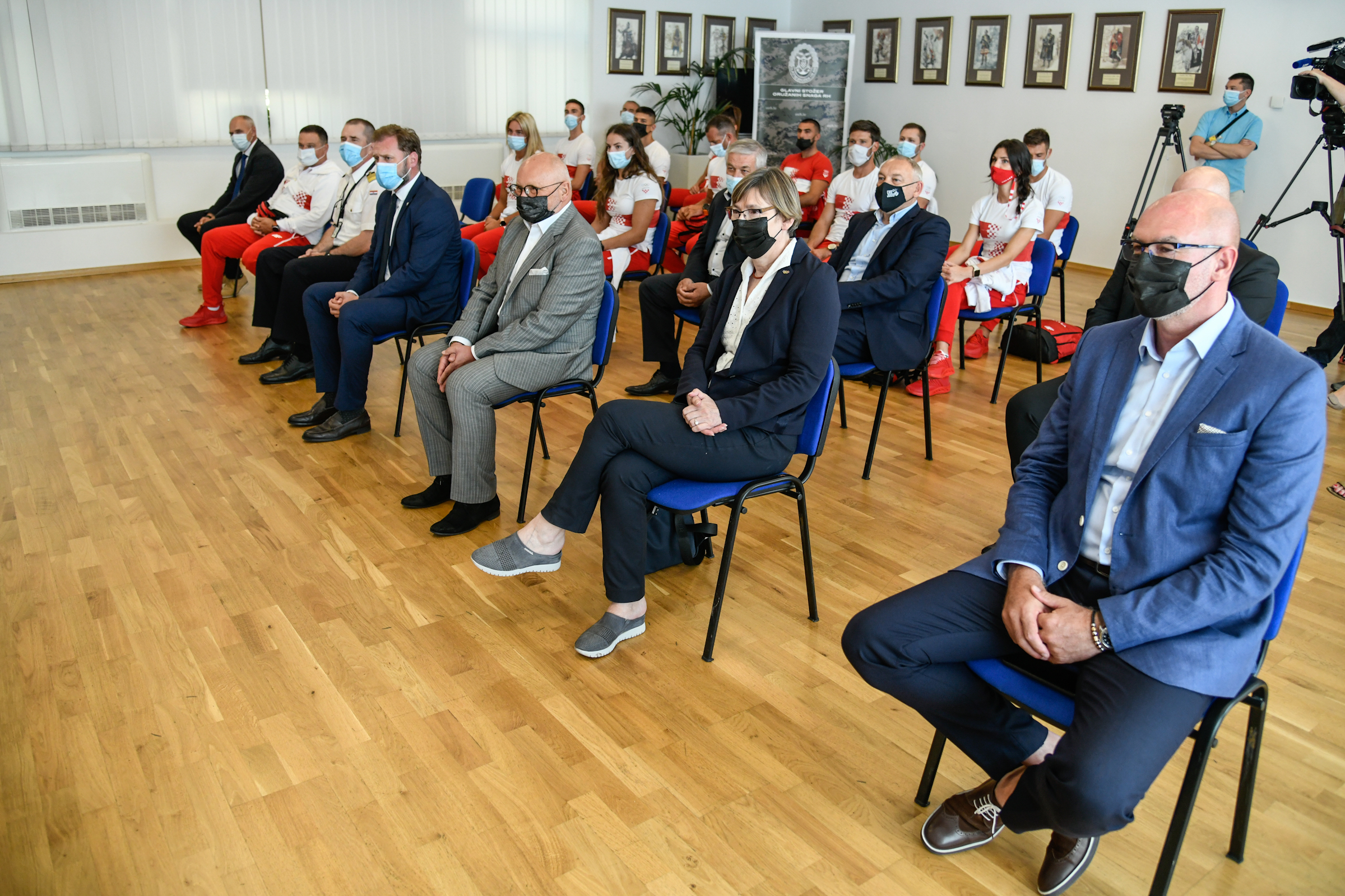 Ministar Banožić primio vrhunske sportaše uoči odlaska na OI