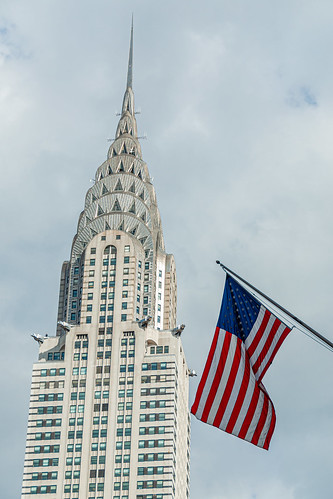 New York, Chrysler Building - April 2018