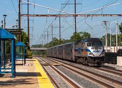 Under Amtrak Wires