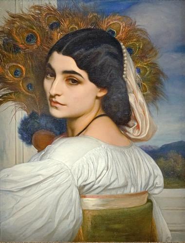 """""""Pavonia"""" de Frederic Leighton (Musée d'Orsay, Paris)"""
