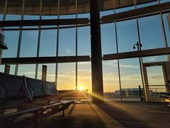 Airside Sunrise