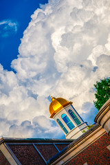Clouds and the Golden Cupola