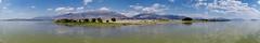 Mount Timpanogos and Cascade Mountain from Utah Lake