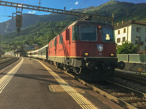 11243 at Faido on the 1609 Zurich HB-Locarno, 01 August 2016,