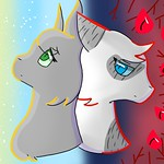 Dovepaw and Ivypaw by Moonpaw
