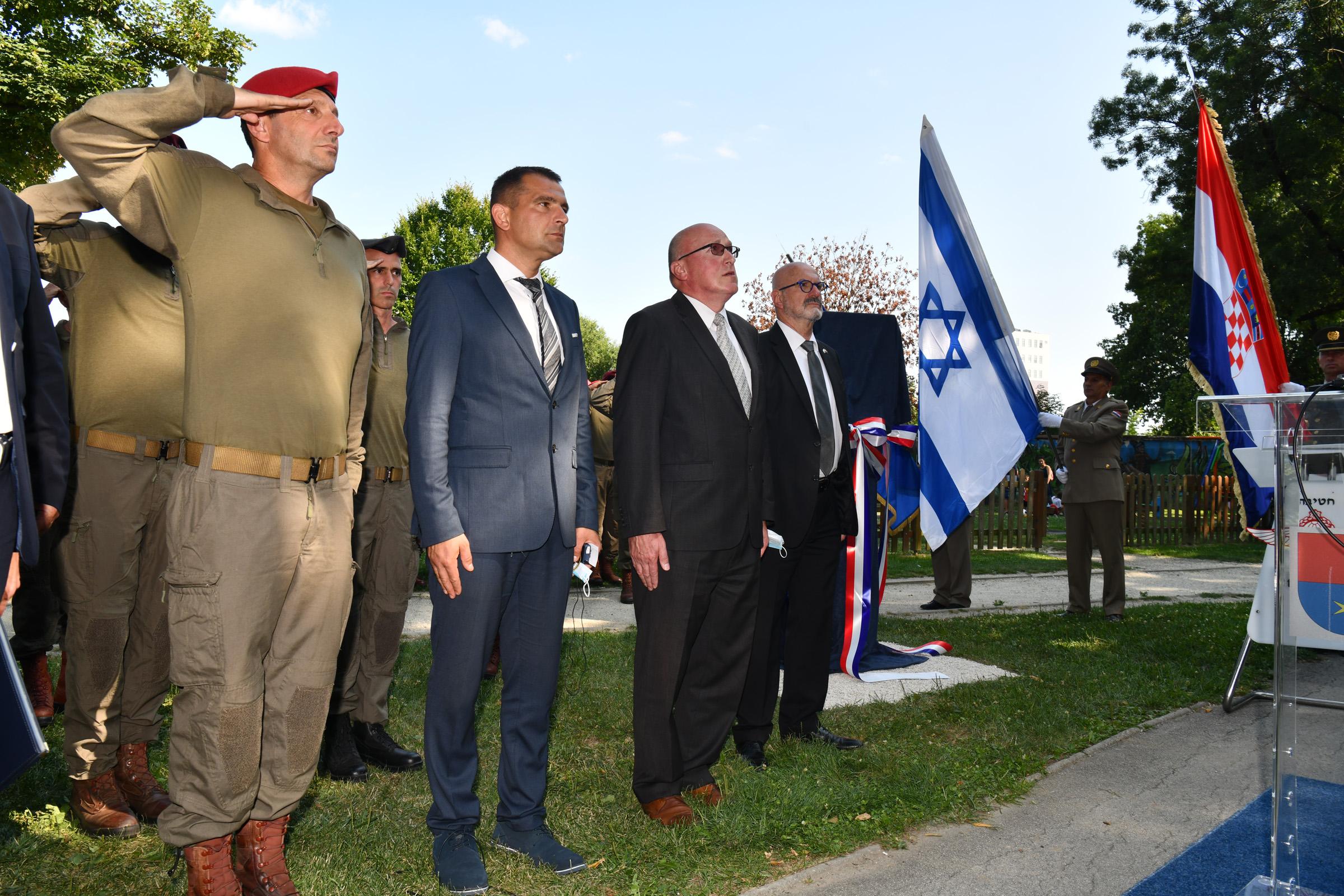 Državni tajnik Jakop na Memorijalnoj hodnji Izraelskih obrambenih snaga