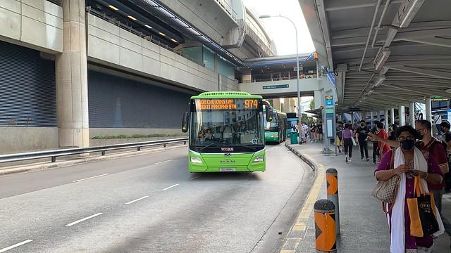 SBS Transit - MAN NL323F A22 (Euro 6) SG1888L on Service 974