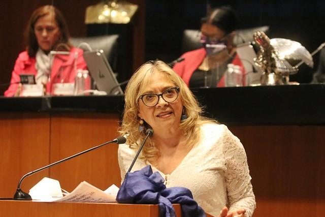 21/07/2021 Tribuna Diputada María De Los Ángeles Huerta Sesión Permanente Senado De La República