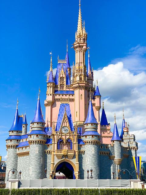 Photo:Cinderella's Castle For Magic Kingdom 50th Anniversary By victoriayore
