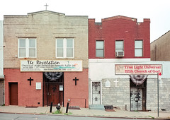 Two storefront churches in Brooklyn