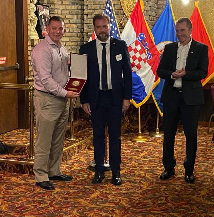 Banožić i Hranj na dvadeset petoj obljetnici suradnje Hrvatske vojske i Nacionalne garde Minnesote