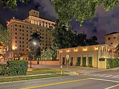 Fort Harrison Hotel, 210 South Fort Harrison Avenue, Clearwater, Florida, USA / Built: 1926 / Architect: Robert F. Smallwood / Floors: 11 / Height: 115.40 ft / Building Usage: Hotel / Architectural Style: Beaux-arts-Historicism