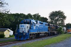 2021 07-21 1850-2 W&W GP38-2-2256, 2689 N/B 301 Turn, Martinsburg, WV