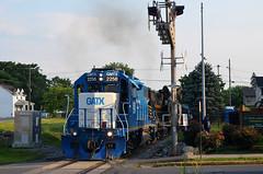 2021 07-21 1854-5 W&W GP38-2-2256, 2689 N/B 301 Turn, Martinsburg, WV