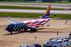 N500WR Southwest Airlines | Boeing 737-8H4(WL) | Memphis International Airport