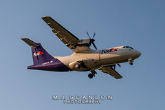 N918FX FedEx Feeder   ATR 42-300(F)   Memphis International Airport