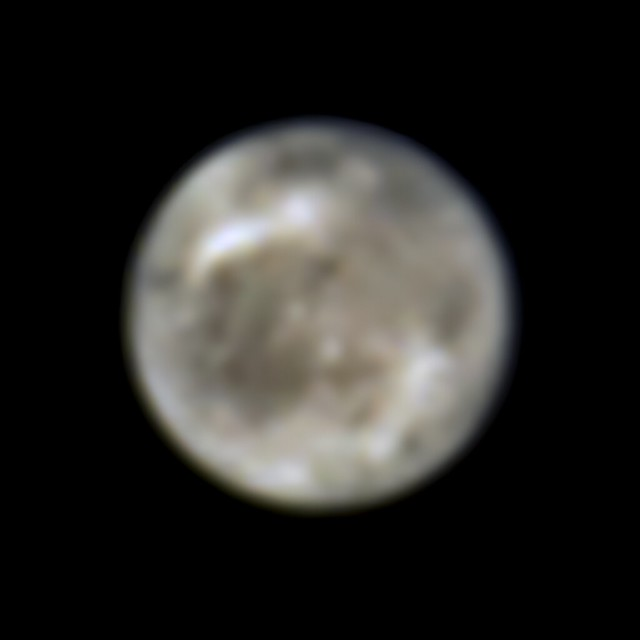 Photo:Hubble Finds First Evidence of Water Vapor at Jupiter's Moon Ganymede By NASA Hubble