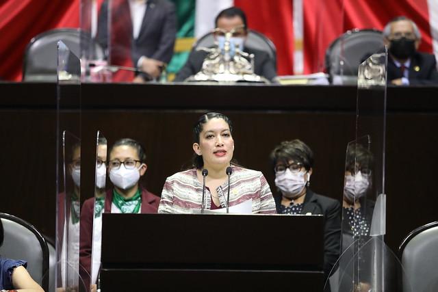 28/04/2021 Tribuna Dip. Rocío Villarauz Martínez