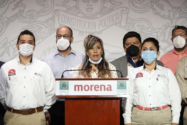 29/04/2021 Conferencia de Prensa Dip. Araceli Ocampo Manzanarez
