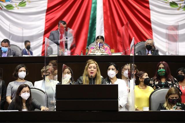 30/04/2021 Tribuna Dip. Sandra Paola González Castañeda