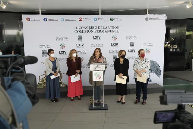 12/05/2021 Conferencia de Prensa Dip. María de los Ángeles Huerta del Río