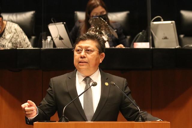 27/07/2021 Tribuna Diputado Rubén Cayetano Sesión Permanente De La Comisión Permanente Senado De La República