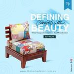 Buy Rajori Single Seater sofa online at discounted prices