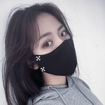 オフホワイトブランドマスク布 通気性が良いレディースメンズ 粉塵コロナ対策マスク