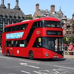 LT081 Westminster Bridge 17-07-2021