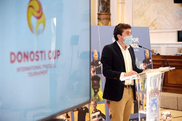 210625 Presentación Donosti Cup Aurkezpena