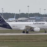 D-AILL Lufthansa Airbus A319-114 ex D-AVYL Marburg