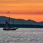 Elliott Bay sailboat