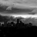 Summer Storm Darkens (B&W)