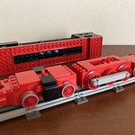 12V Train MOC ② Steam Locomotive Inspired By #7777 Idea Book