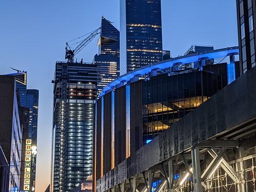 Madison Square Garden Twilight