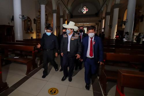 El presidente de la República, Pedro Castillo, viaja a Piura para atender de manera urgente y prioritaria la emergencia suscitada por el fuerte sismo ocurrido hoy en esta región